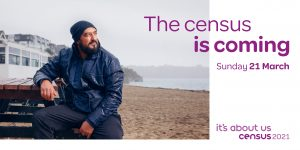 Image of man on beach to denote that Census 2021 is coming