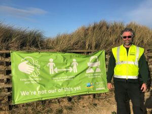 Mark Shaw Green Sefton Service Manager at Ainsdale Beach