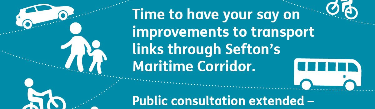 Time extended to have your say on transport improvements through Sefton's Maritime Corridor