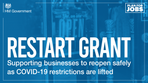 Restart grant supporting businesses to reopen safely
