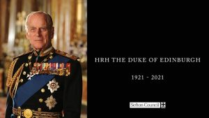 Image of HRH Duke of Edinburgh to commemorate his passing