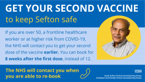Get your second vaccine poster