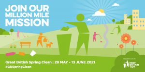 Keep Britain Tidy million mile mission for the Great British Spring Clean