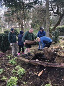 Past volunteer activity undertaken by the Botanic Gardens Community Association and Green Sefton