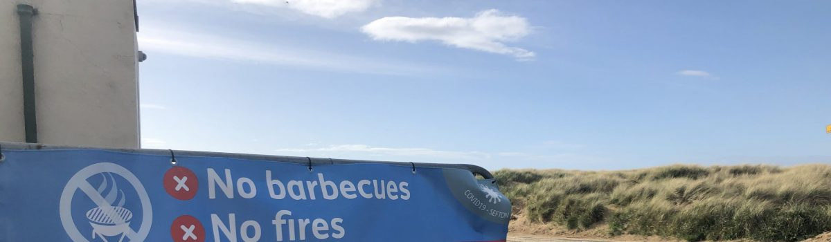 Bank Holiday beach goers urged to remain cautious when visiting the Sefton coast