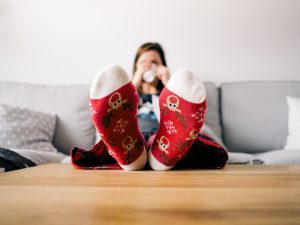 Image showing someone in a warm home