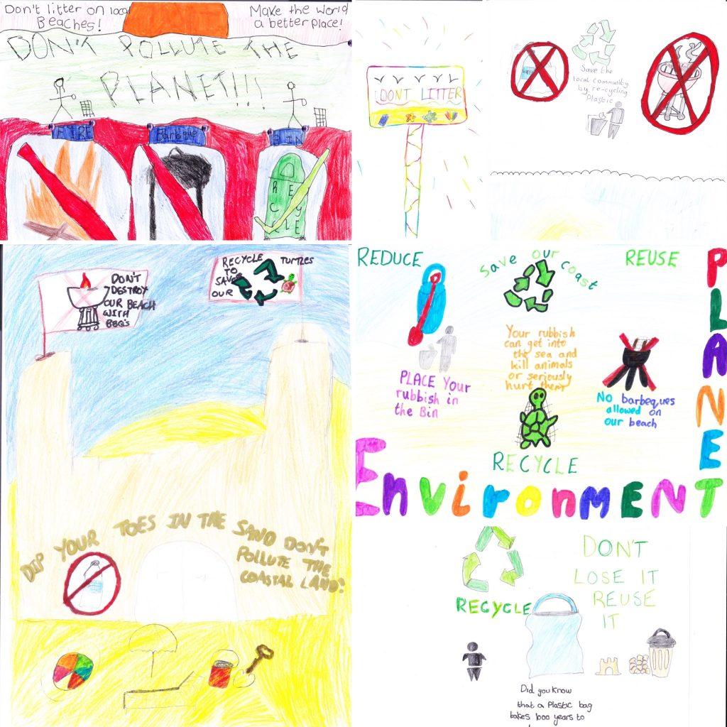 Ainsdale primary school kids drawings