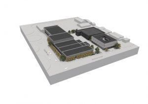 Imagined design of the new development