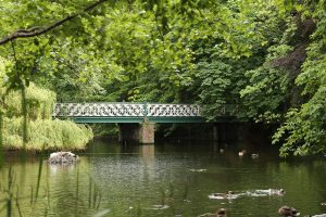 Southport's Botanic Gardens lake