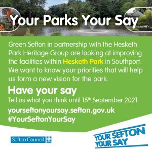 Have your say and help shape a new vision for the park!