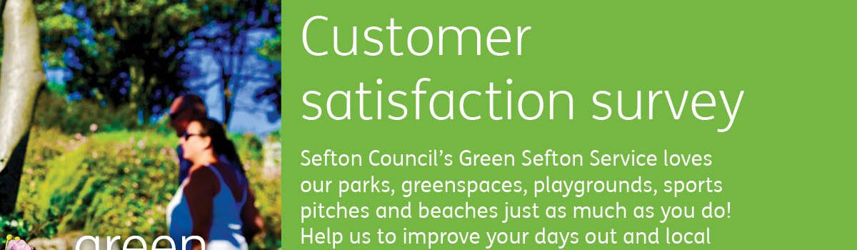 Call for those with a love of the outdoors to take part in Green Sefton customer satisfaction survey