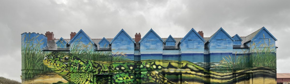 Street artist Paul Curtis completes gigantic transformation of Ainsdale's Toad Hall