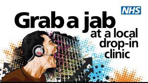 Grab a jab graphic