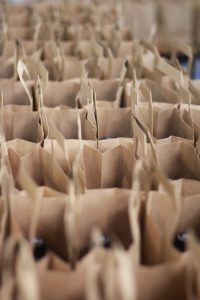 Packed lunches in summer school meal programme