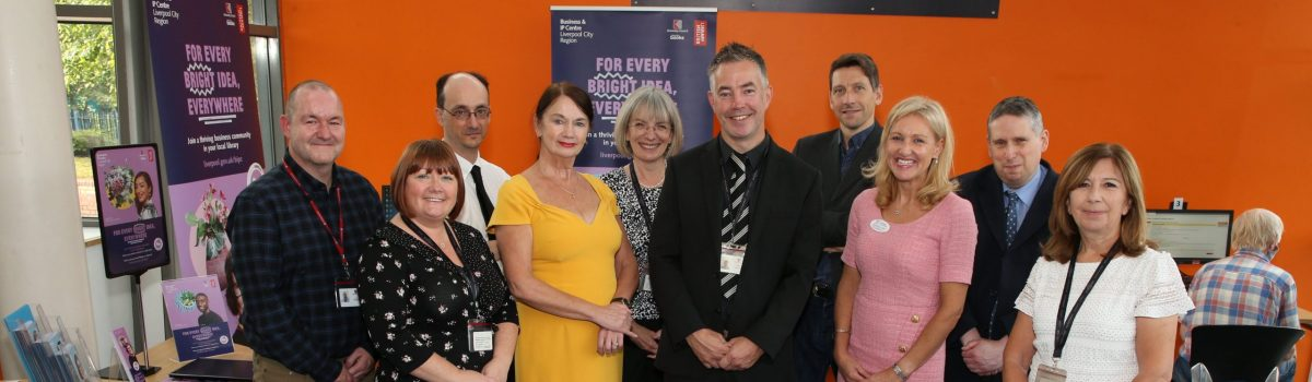 BIPC Liverpool and British Library join forces to announce major new support lifeline for businesses across the Liverpool City Region