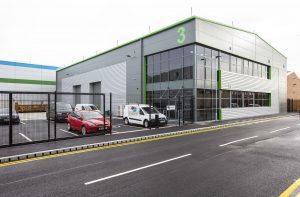 CNC Robotics industrial unit at Mersey Reach